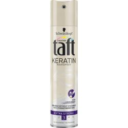 Taft Keratin Extra Strong Lakier do włosów 250 ml