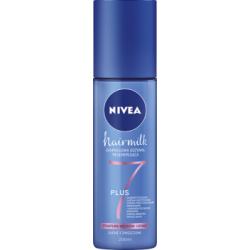 NIVEA Hairmilk Ekspresowa odżywka regenerująca do włosów o cienkiej strukturze 200 ml