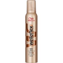 Wella Wellaflex Połysk i trwałość Maksymalnie utrwalająca pianka do włosów 200 ml