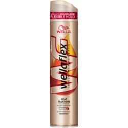 Wella Wellaflex Heat Creation Ultra Strong Hold Lakier do włosów 250 ml