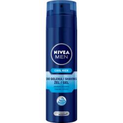 NIVEA MEN Cool Kick Żel do golenia 200 ml