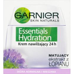 Garnier Skin Naturals Essentials Hydration Krem nawilżający 24 h skóra normalna i mieszana 50 ml
