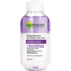 Garnier Skin Naturals Ekspresowy demakijaż oczu 2w1 125 ml