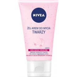 NIVEA Żel-krem do mycia twarzy cera sucha i wrażliwa 150 ml