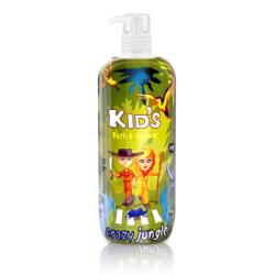 Hegron Kids płyn do kąpieli 950ml Crazy Jungle