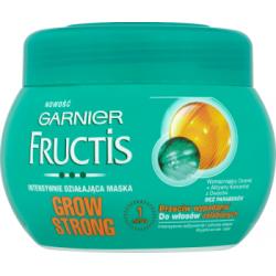 Garnier Fructis Grow Strong Maska przeciw wypadaniu do włosów osłabionych 300 ml