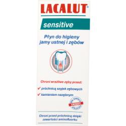 Lacalut Sensitive Płyn do higieny jamy ustnej i zębów 300 ml