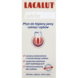 Lacalut White Płyn do higieny jamy ustnej i zębów 300 ml