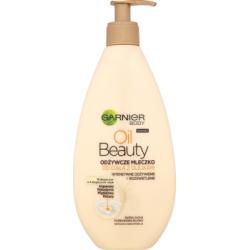 Garnier Body Oil Beauty Odżywcze mleczko do ciała z olejkami 400 ml