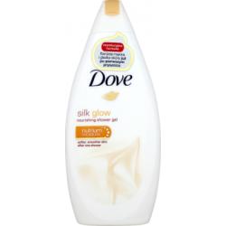 Dove Silk Glow Odżywczy żel pod prysznic 500 ml
