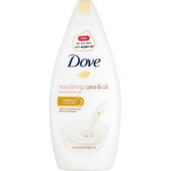 Dove Nourishing Care & Oil Moroccan Argan Oil Żel pod prysznic 500 ml