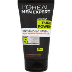 L'Oréal Paris Men Expert Pure Power 15+ Oczyszczający węgiel przeciw niedoskonałościom 150 ml