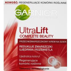 Garnier Skin Naturals UltraLift Complete Beauty Przeciwzmarszczkowy krem na dzień 50 ml