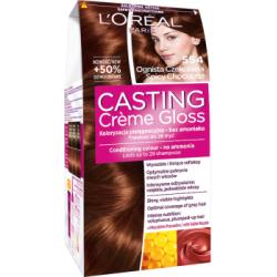 Loreal Paris Casting Creme Gloss Farba do włosów 554 Ognista czekolada