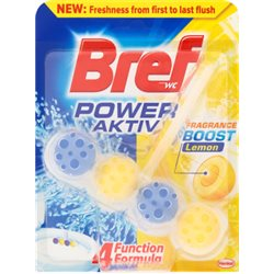 Bref WC Power Aktiv Lemon Zawieszka do muszli WC 50 g