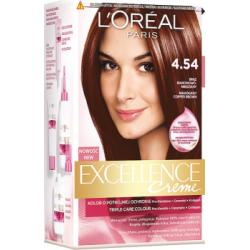 Loreal Paris Excellence Creme Farba do włosów 4.54 Brąz mahoniowo-miedziany