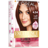 L'Oréal Paris Excellence Creme Farba do włosów 4.54 Brąz mahoniowo-miedziany