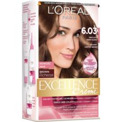 Loreal Paris Excellence Creme Farba do włosów 6.03 Świetlisty ciemny blond