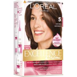 Loreal Paris Excellence Creme Farba do włosów 5 Jasny brąz