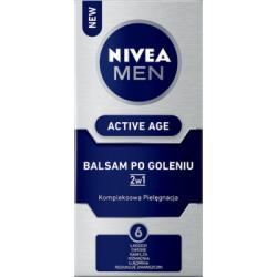 NIVEA MEN Active Age Balsam po goleniu 2w1 75 ml