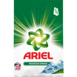 Ariel Mountain Spring Proszek do prania 1500 g, 20 prań