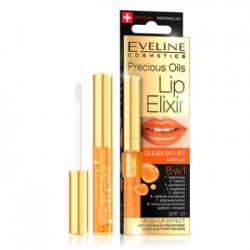 Eveline PRECIOUS OILS LIP ELIXIR Olejek do ust VANILLA 8w1 7 ml