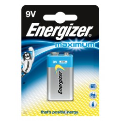 Bateria Energizer Maximum 9V