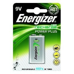 Akumulator Energizer Power Plus 9V (175 mAh)