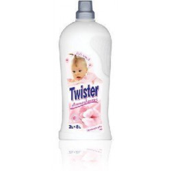Twister koncentrat do płukania tkanin 2l Soft Touch White