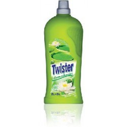 Twister koncentrat do płukania tkanin 2l Water Flower Green