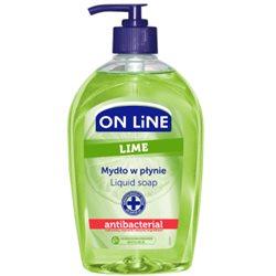 ON LiNE Mydło antybakteryjne Lime 500ml