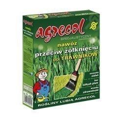 Agrecol Nawóz do trawników- przeciw żółknięciu traw 1 kg