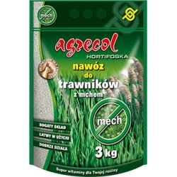 Agrecol Hortifoska nawóz do trawników z mchem 3 kg