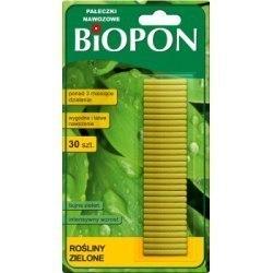 Biopon pałeczki nawozowe do roślin zielonych 30szt