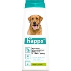 Happs szampon pielęgnacyjny dla psów o sierści jasnej 200ml.