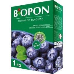 Biopon nawóz do borówek granulat 1kg + eliksir do storczyków gratis