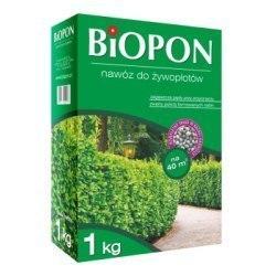 Biopon nawóz do żywopłotów granulat 1kg