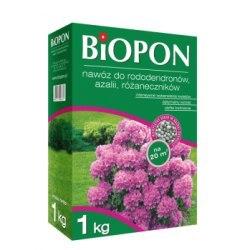 Biopon nawóz do rododendronów azalii i różaneczników granulat 1kg + eliksir do storczyków