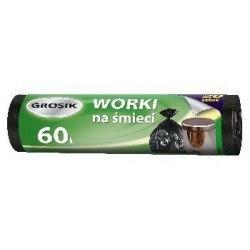 Grosik Worki na śmieci HD 60l 20szt