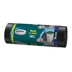 Grosik Worki na śmieci LD 160l 10szt