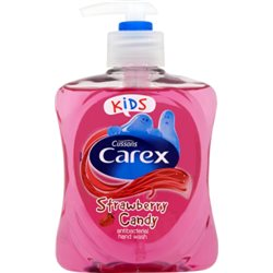 Carex Kids Strawberry Candy Antybakteryjne mydło 250 ml