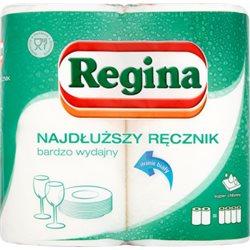 Regina Najdłuższy Ręcznik bardzo wydajny Ręcznik uniwersalny 2 warstwy 2 rolki