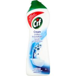 Cif Cream Original z mikrokryształkami Mleczko do czyszczenia powierzchni 300 g