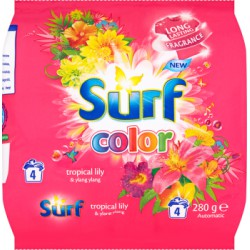 Surf Color Tropical Lily & Ylang Ylang Proszek do prania 280 g (4 prania)