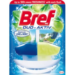Bref WC Duo-Aktiv Lime & Mint Zawieszka do muszli WC 50 ml