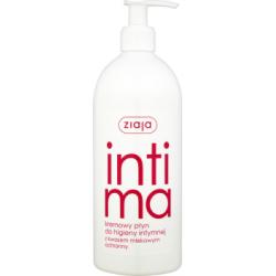 Ziaja Intima Kremowy płyn do higieny intymnej z kwasem mlekowym ochronny 500 ml