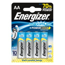 Bateria Energizer Maximum AA/4
