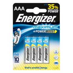 Bateria Energizer Maximum AAA/4