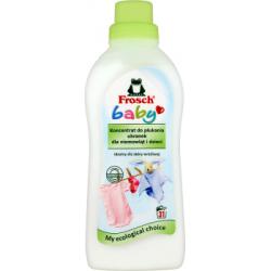 Frosch Baby Koncentrat do płukania ubranek dla niemowląt i dzieci 750 ml (31 prań)