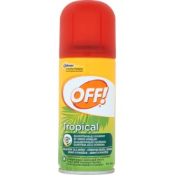 OFF! Tropical Repelent w suchym aerozolu 100 ml
